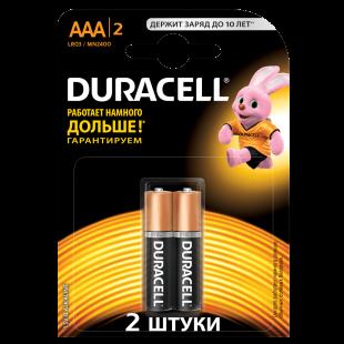 Батарейки Duracell AAA (LR03) MN2400 1шт