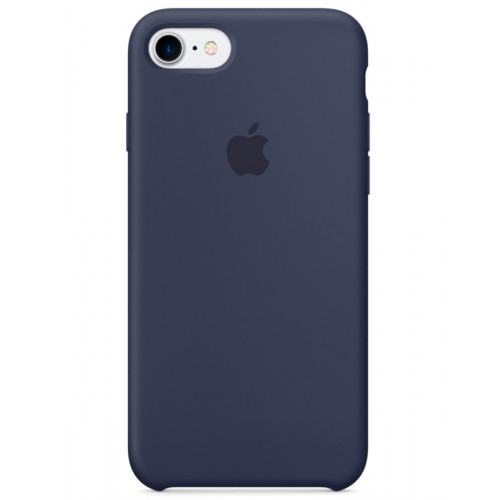 iPhone 7 + Silicone Case Midnight Blue