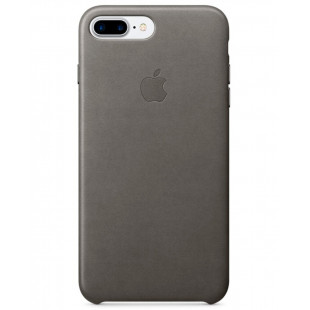 iPhone 7 + Leather Case Storm Gray MMYE2