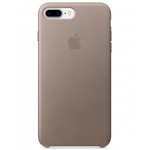 iPhone 7 + Leather Case Taupe MPTC2