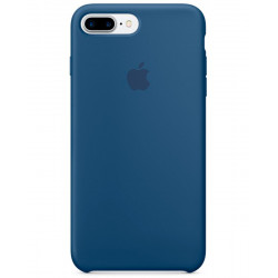 iPhone 7 + Silicone Case Ocean Blue MMQX2ZM/A