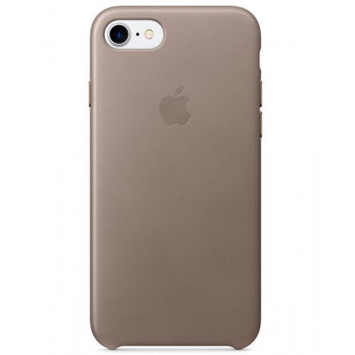 Чехол Apple Leather Case IPhone 7 Taupe (MPT62)