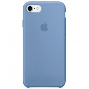 Силиконовый чехол Apple Silicone Case IPhone 7 Azure (MQ0J2)