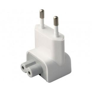 Переходник (Носик) Евро для блоков питания и зарядок Apple MacBook Pro/Air, iPhone, iPad, iPod