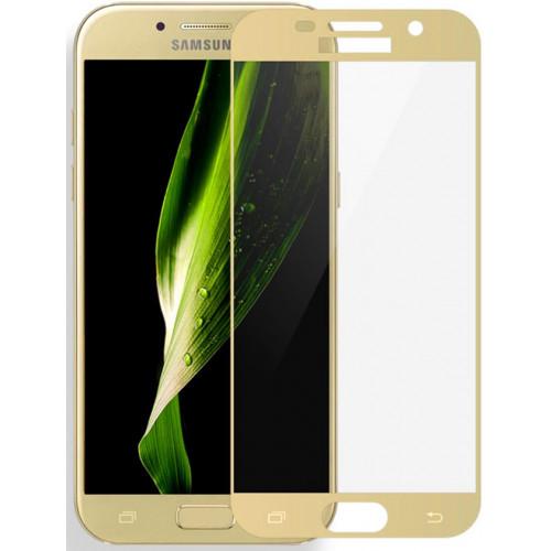 Защитное стекло 3D Samsung Galaxy J330 (Gold)