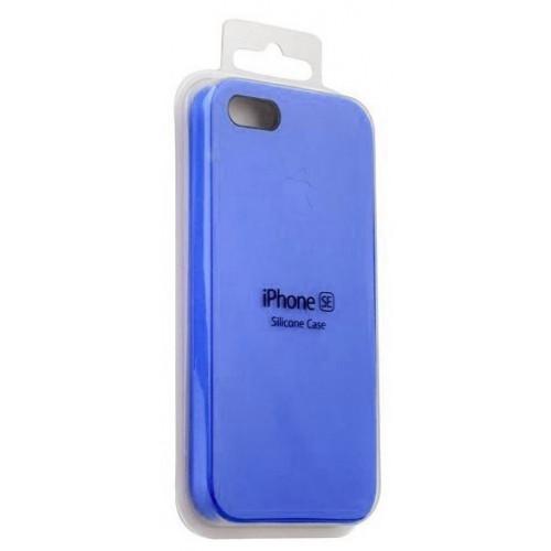 Силикон Apple iPhone SE Original синий