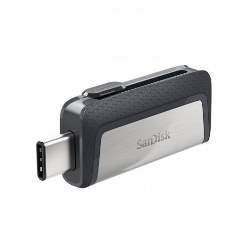 Флешка SanDisk 16 GB USB 3.1 + Type-C Ultra Dual (SDDDC2-016G-G46)