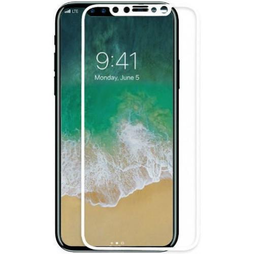 Защитное стекло 5D IPhone X/XS/11 Pro (White)