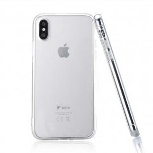 Силикон Apple iPhone X прозрачный WS