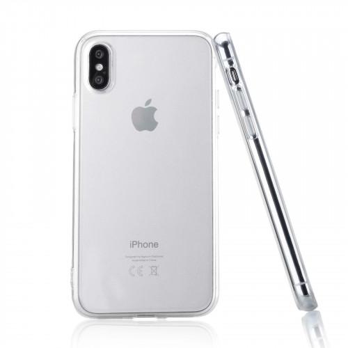 Силикон Apple iPhone X / XS прозрачный WS