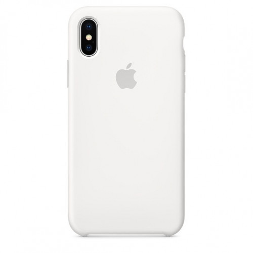 Силикон Apple iPhone X Original Белый
