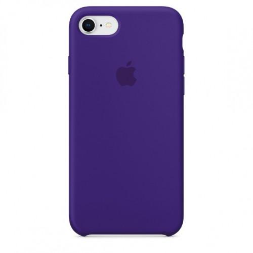Силиконовый чехол Apple Silicone Case IPhone 7/8 Violet (1:1)