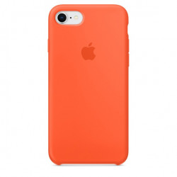Силиконовый чехол Apple Silicone Case IPhone 7/8 Orange (1:1)