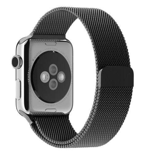 Ремешок для Apple Watch 38/40mm Space Grey Milanese Loop