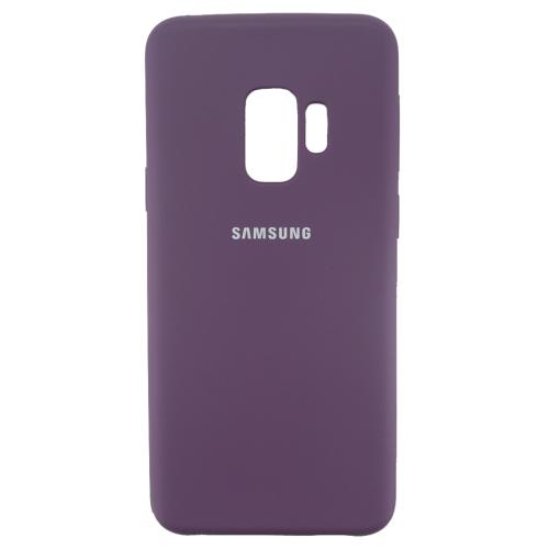 Силикон Soft Touch Samsung S9 (Фиолетовый)