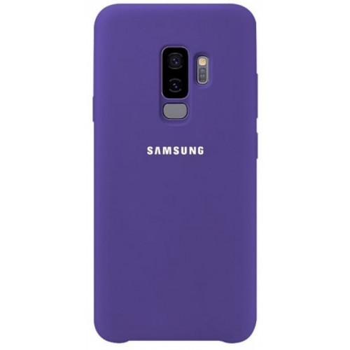 Силикон Soft Touch Samsung S9 Plus (Фиолетовый)