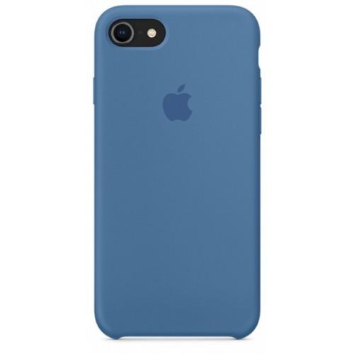 Силикон Apple iPhone 7/8 Plus Original Denim Blue