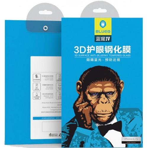 Защитное стекло 3D IPhone 7/8 (White) Corning Gorilla Glass Blueo