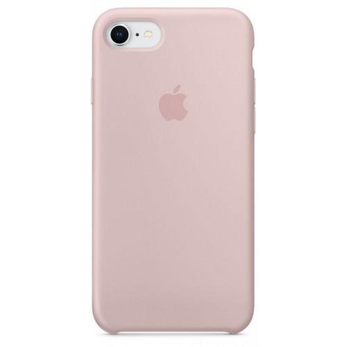 Силиконовый чехол Apple Silicone Case IPhone 7/8 Pink Sand (1:1)