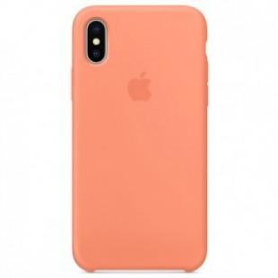 Силикон Apple iPhone X Original Peach