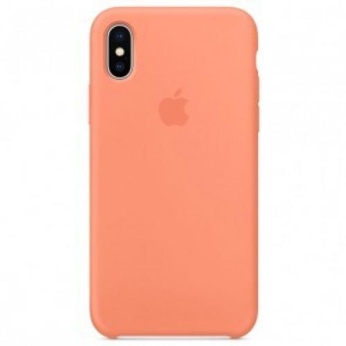 Силикон Apple iPhone X / XS Original Peach