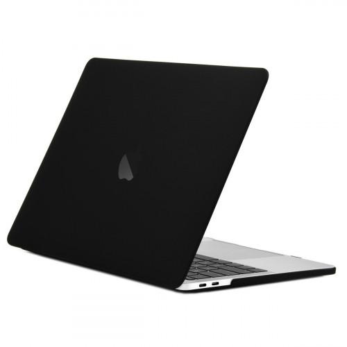 Чехол накладка для Apple MacBook Pro 13 (Черный)