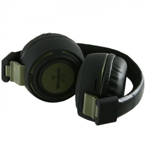 Гарнитура Bluetooth/MP3/FM-radio AZ-11 (зеленый)