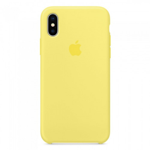 Силикон Apple iPhone X / XS Original Lemonade
