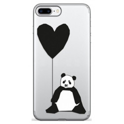 Чехол Pump Transperency iPhone 8 Plus/7Plus Sad Panda