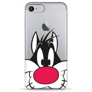Чехол Pump Transperency  iPhone 8/7 Sylvester The Cat