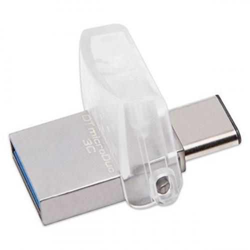 Флешка Kingston 64 GB DataTraveler microDuo 3C Type-C DTDUO3C/64GB