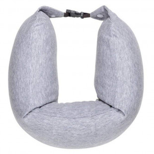 Подушка Xiaomi 8H Travel Neck Waist Pillow Natural Latex Particles U Shaped Soft Cushion (Gray)
