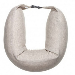 Подушка Xiaomi 8H Travel Neck Waist Pillow Natural Latex Particles U Shaped Soft Cushion (Cream)
