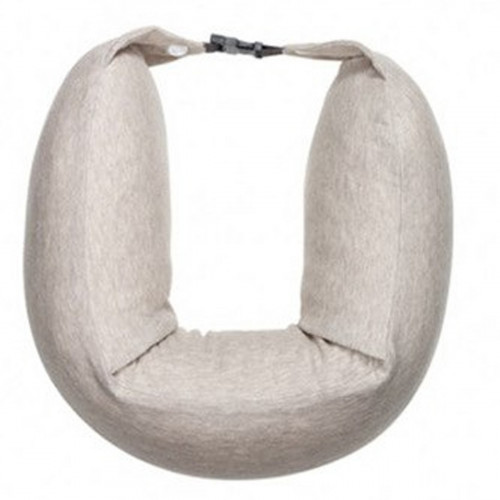 Подушка Xiaomi 8H Travel Neck Waist Pillow Natural Latex Particles U Shaped Soft Cushion (Cream)