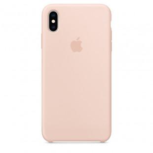 Силиконовый чехол Apple Silicone Case Pink Sand (MTFD2) для iPhone XS Max