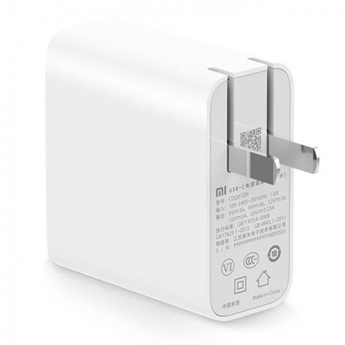 СЗУ Xiaomi USB-C Power Adapter (65W) + Type-C кабель CDQ07ZM NZB4001CN