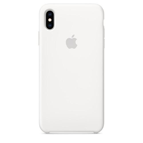 Силиконовый чехол Apple Silicone Case White (1:1) для iPhone XS Max