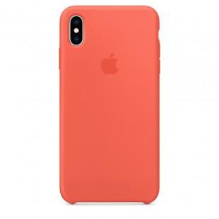 Силиконовый чехол Apple Silicone Case Nectarine (1:1) для iPhone XS