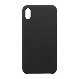 Силиконовый чехол Graphite iPhone XS Max (черный)