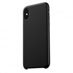 Силиконовый чехол Graphite iPhone XS (черный)