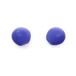 Силиконовые амбушюры для Apple EarPods/AirPods (синий)