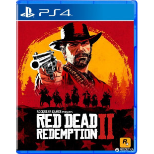 Диск PS4 Red Dead Redemption 2 (Русская версия)