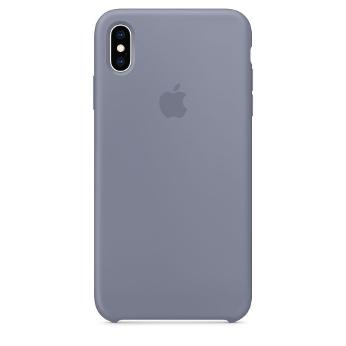 Силиконовый чехол Apple Silicone Case Lavender Gray (1:1) для iPhone XS Max
