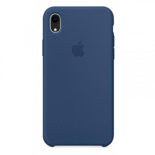 Силиконовый чехол Apple Silicone Case Blue Horizon (1:1) для iPhone XR