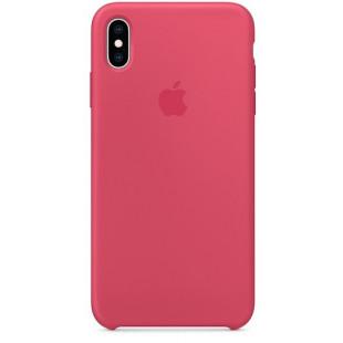 Силиконовый чехол Apple Silicone Case Hibiscus (1:1) для iPhone XS