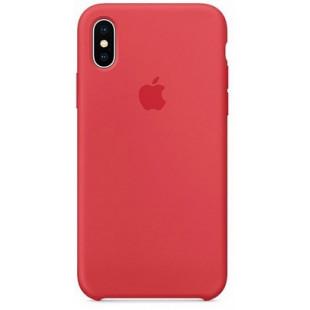 Силиконовый чехол Apple Silicone Case Camelia (1:1) для iPhone XS