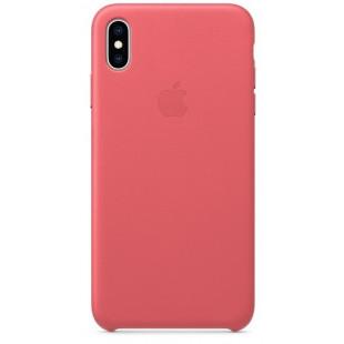 Силиконовый чехол Apple Silicone Case Peony Pink (1:1) для iPhone XS
