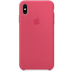 Силиконовый чехол Apple Silicone Case Hibiscus (1:1) для iPhone XS Max
