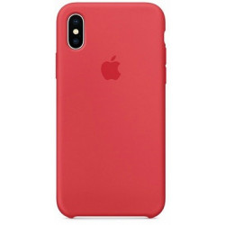 Силиконовый чехол Apple Silicone Case Camelia (1:1) для iPhone XS Max