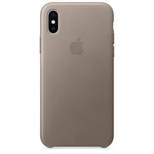 Силиконовый чехол Apple Silicone Case Pebble (1:1) для iPhone XS Max